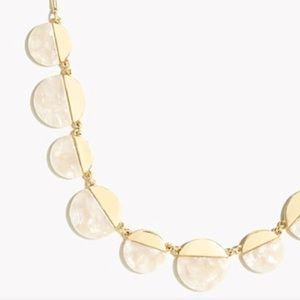 new :: J. Crew :: tortoise ivory necklace